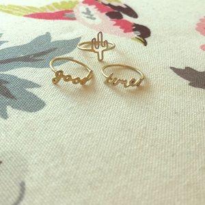 3 Madewell Rings